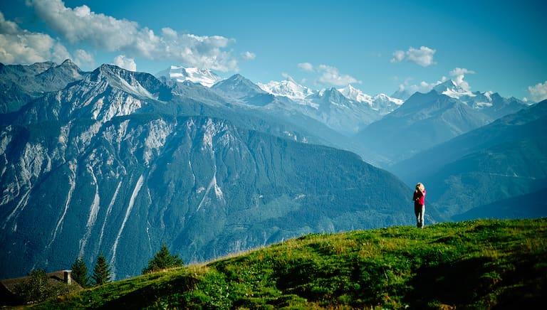 Wanderungen Crans-Montana