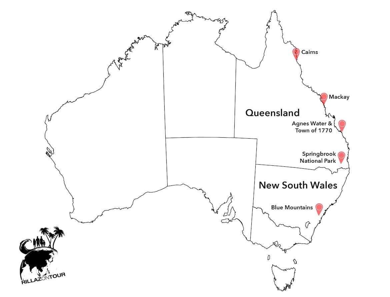 Australien Reise Camper