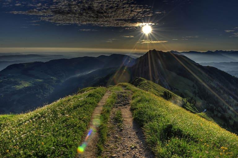 24h Trophy: Langzeitwandern bei Oberstaufen im Allgäu