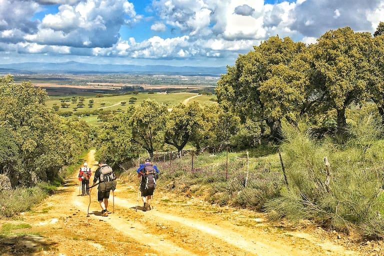 Landschaft in der Extremadura