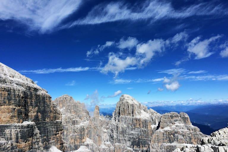 Ferrata Brentari im Trentino