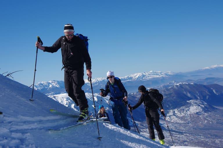 Skitourengeher: Harscheisen