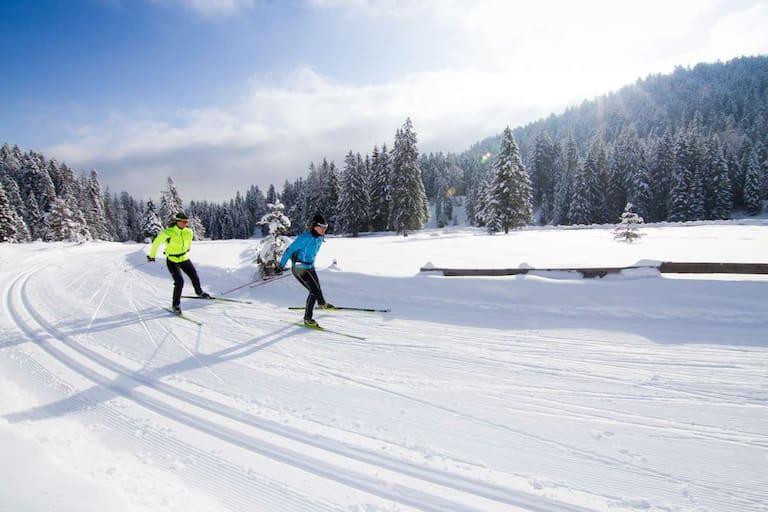 Langlaufen rund um Seefeld