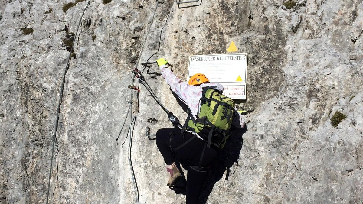 Klettersteig Innsbruck Umgebung : Check: der innsbrucker klettersteig c d bergwelten