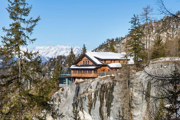 Die Dolomitenhütte in Osttirol