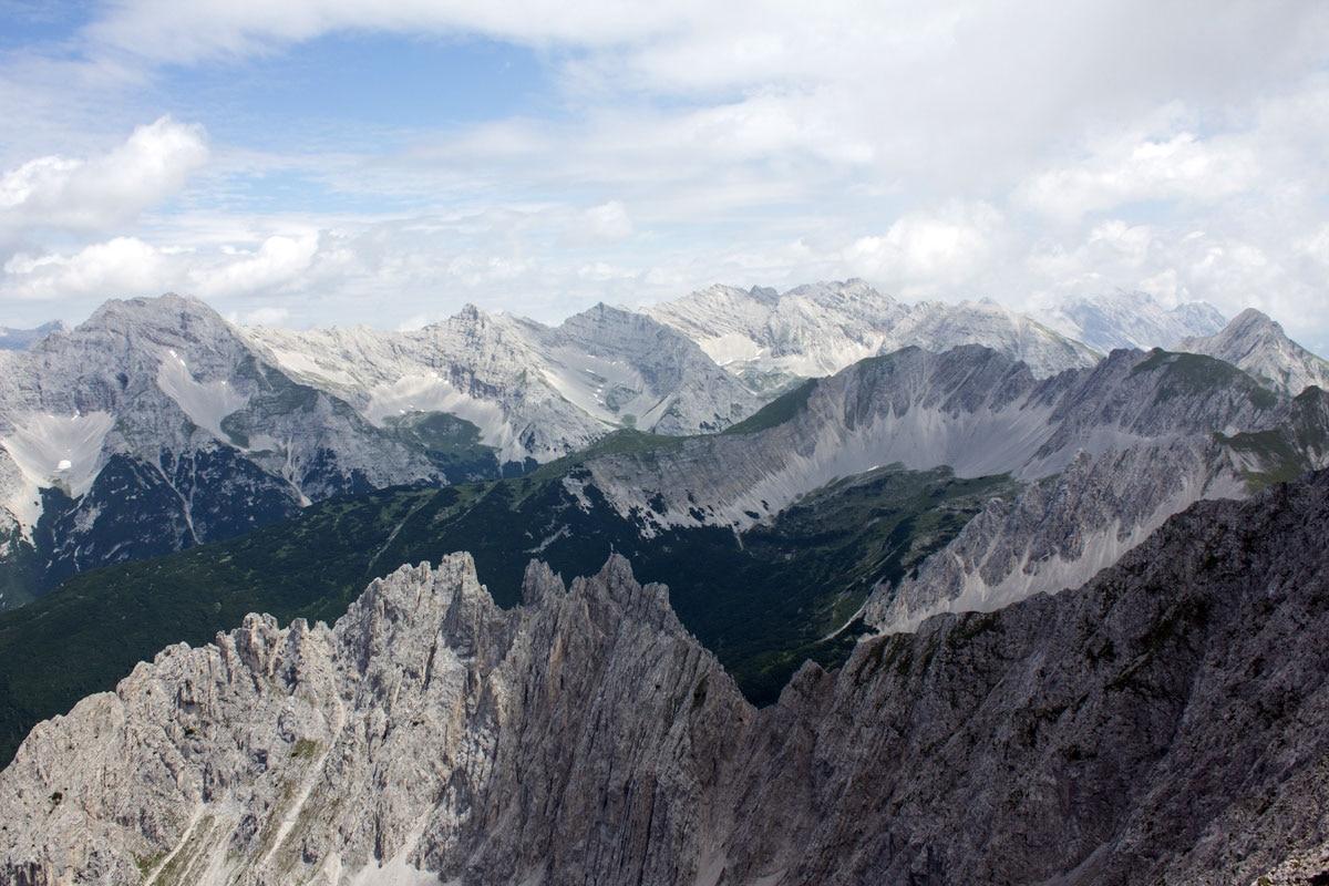 Klettersteigset Innsbruck : Check der innsbrucker klettersteig c d bergwelten