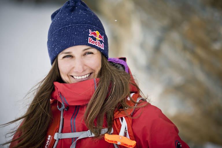 Nadine Wallner ist Freeride Doppel-Weltmeisterin und lebt für die Berge