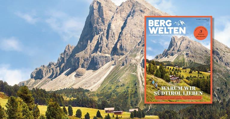 Bergwelten Magazin Oktober/November 2018