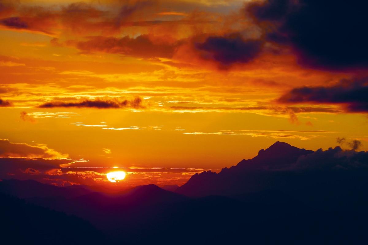 Wetterregeln Morgenrot Und Abendrot Bergwelten