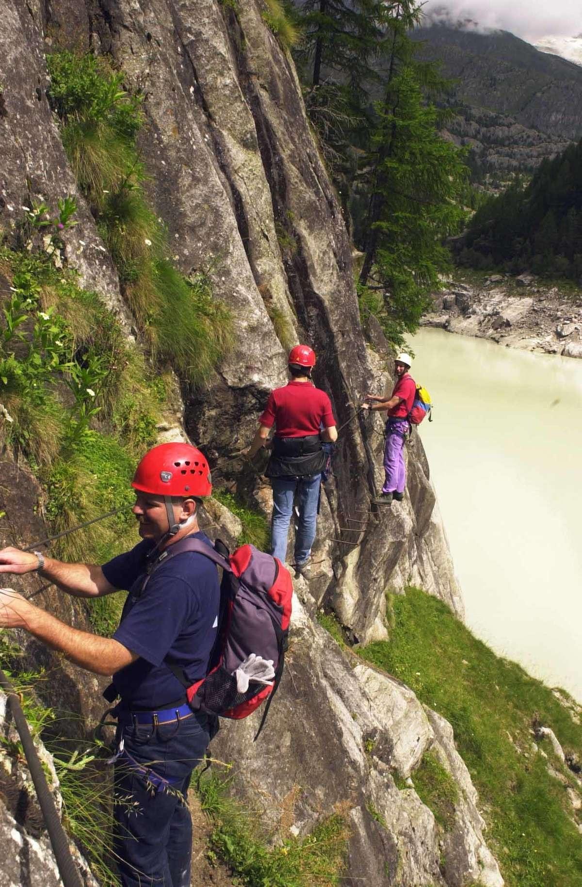 Klettersteig Bern : Check der allmenalp klettersteig c d bergwelten