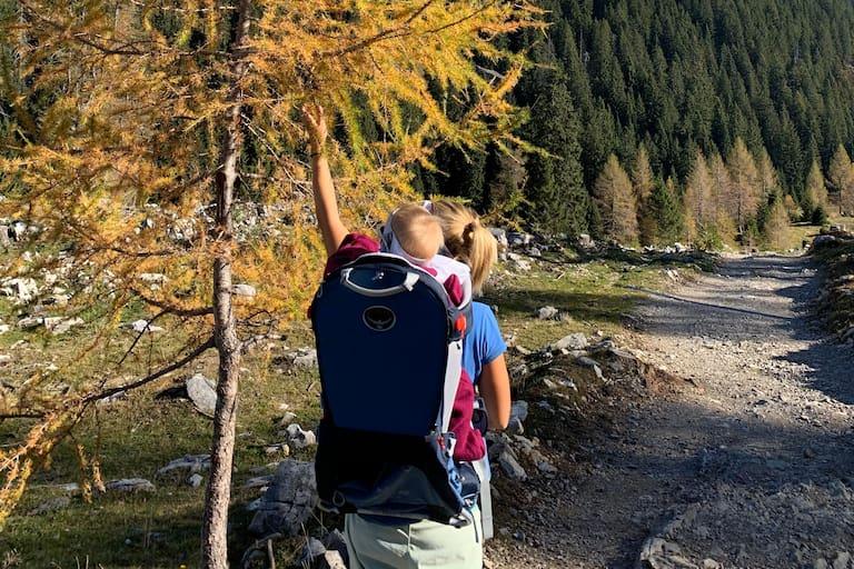 Herbst Wandern mit Kindern