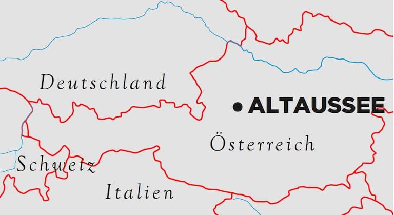 Altaussee Karte