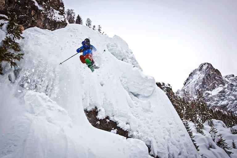 Steilwandskifahren