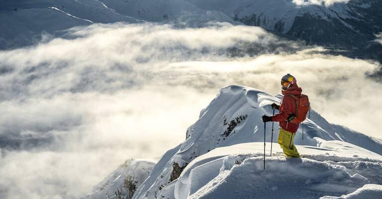 Nadine Wallner am Arlberg