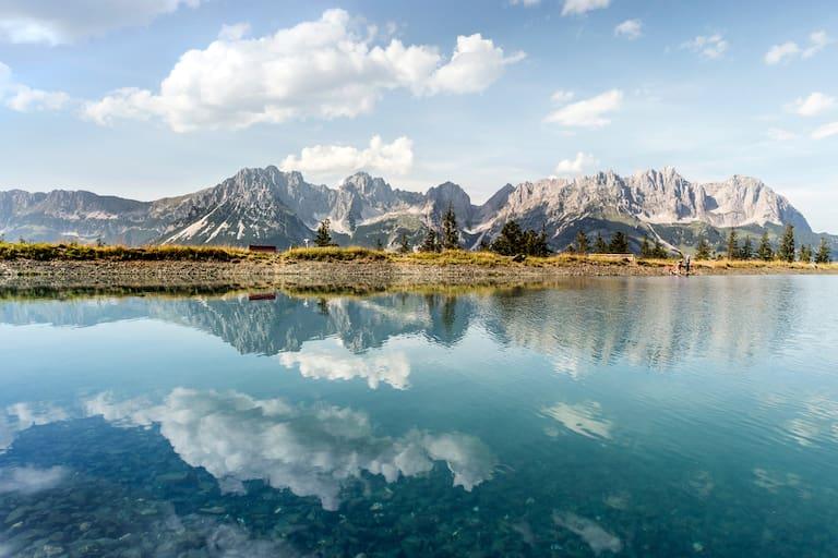 Astbergsee und Wilder Kaiser in Tirol