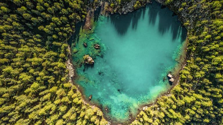 Wer die Natur schätzt und ihr mit größtem Respekt begegnet, genießt sie noch mehr.