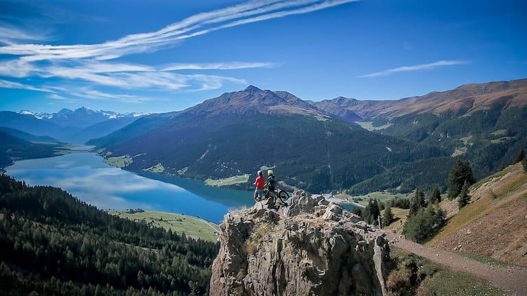 Just Be Mountainbike Bergwelten Reschensee Südtirol
