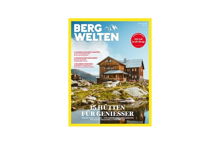Cover des Bergwelten Magazins (Juni/Juli 2017)
