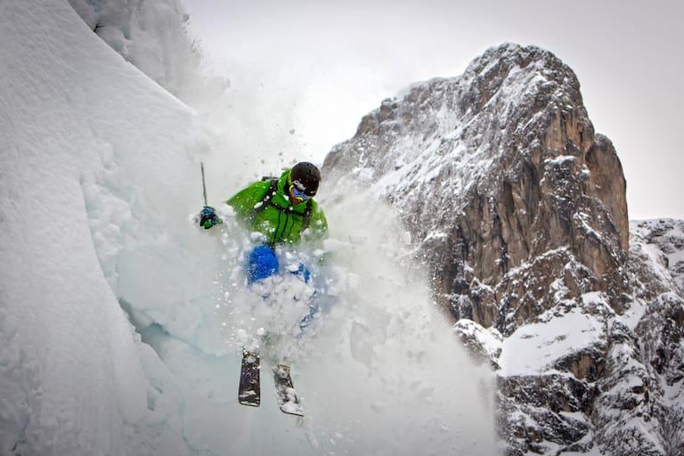 Auf Skiern am Limit