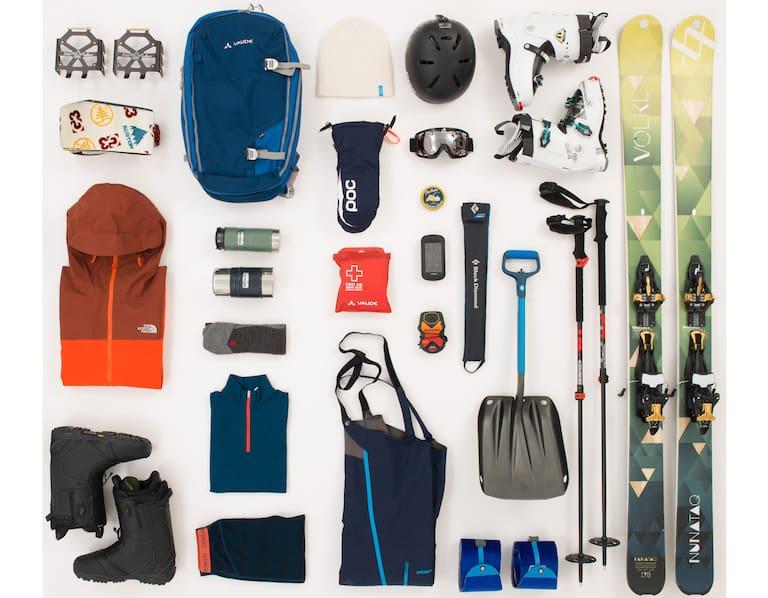 Packliste: Skitouren