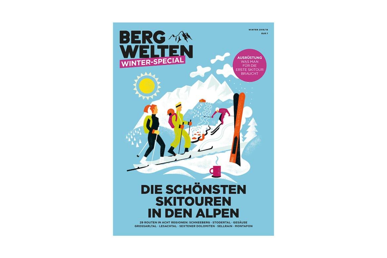 Jetzt überall im Zeitschriftenhandel – das Bergwelten Winter-Special (2018/19)