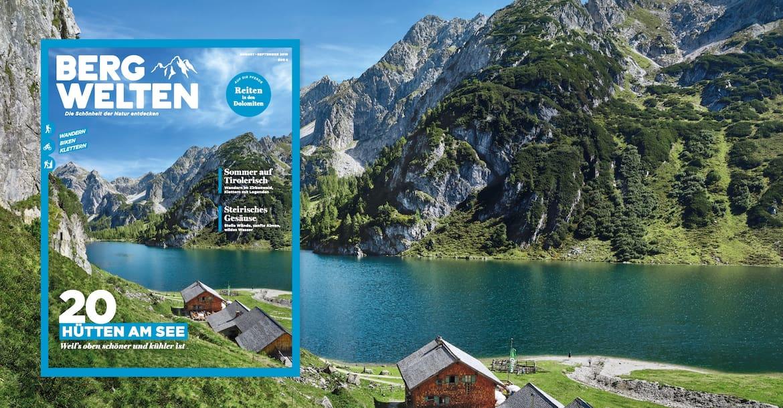Bergwelten-Magazin (Ausgabe August/September 2019)
