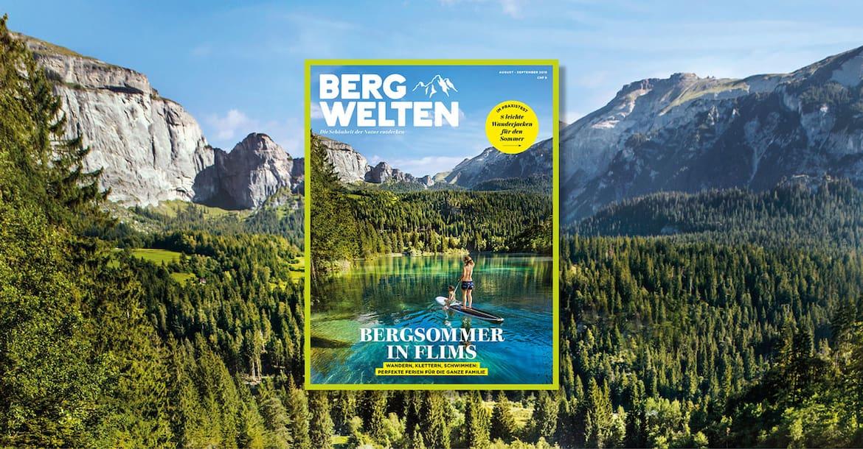 Das neue Bergwelten Magazin (August/ September 2018)