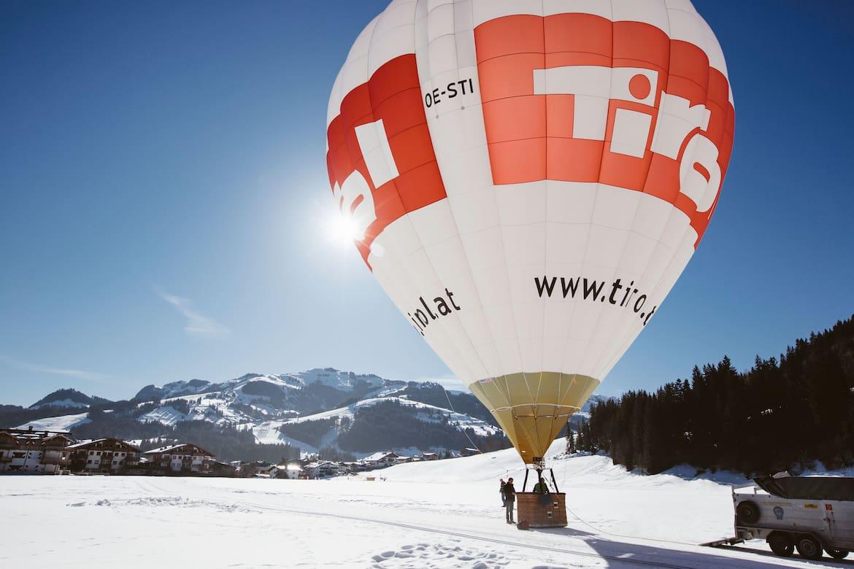 Der große Heißluftballon
