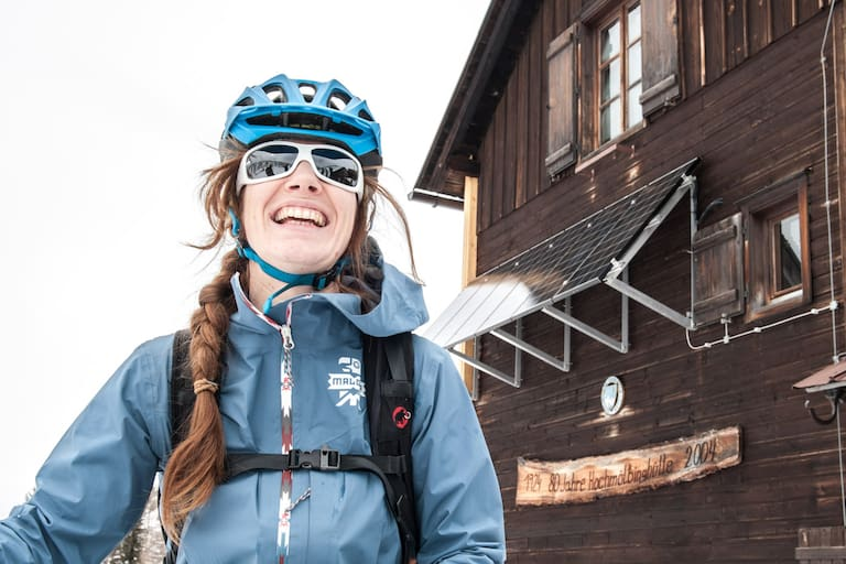 Mountainbiken in Graz: Maria Sendlhofer-Schag