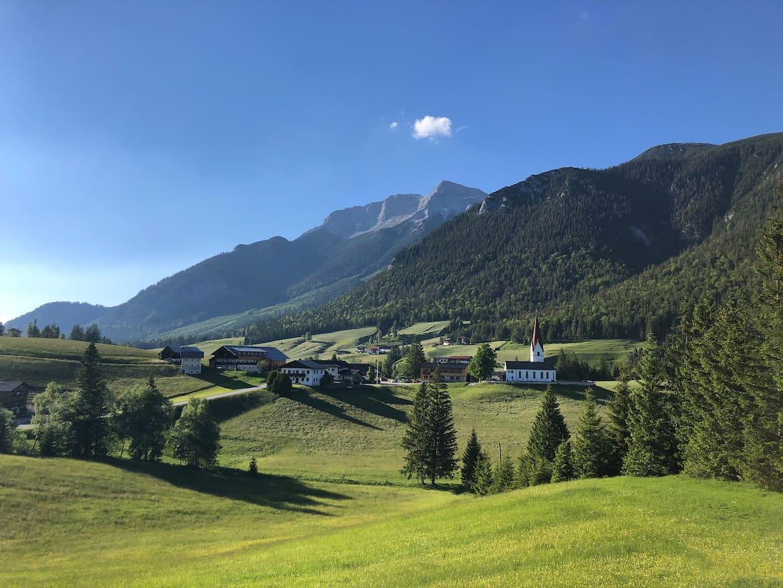 Die Entwicklung der Gemeinde Steinberg am Rofan beruht auf einem Wertekatalog.