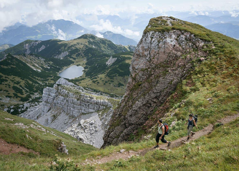 Das Rofan ist eines der schönsten Wandergebiete in Tirol.