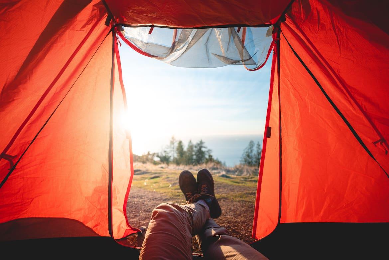 """""""Zimmer"""" mit Aussicht. – So kannst du den Sonnenuntergang genießen."""