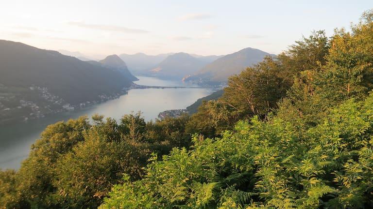 Erwandere in 9 Etappen den Südtessin auf dem Sentiero Lago di Lugano.