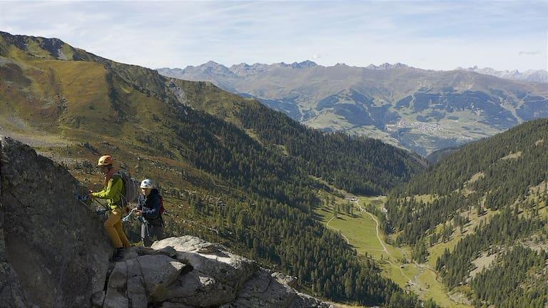 Kristina Sprenger Renkfälle Klettersteig