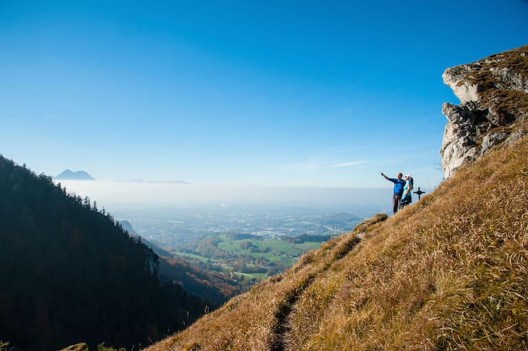 Salzburg Berge Kühberg, Gaisberg, Nockstein, Heuberg
