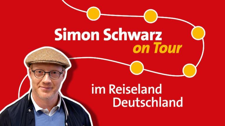 Simon Schwarz on Tour im Reiseland Deutschland