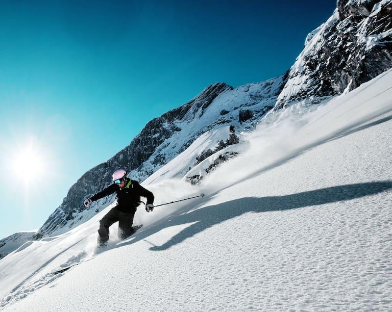 Telemarken Alpspitze in Bayern