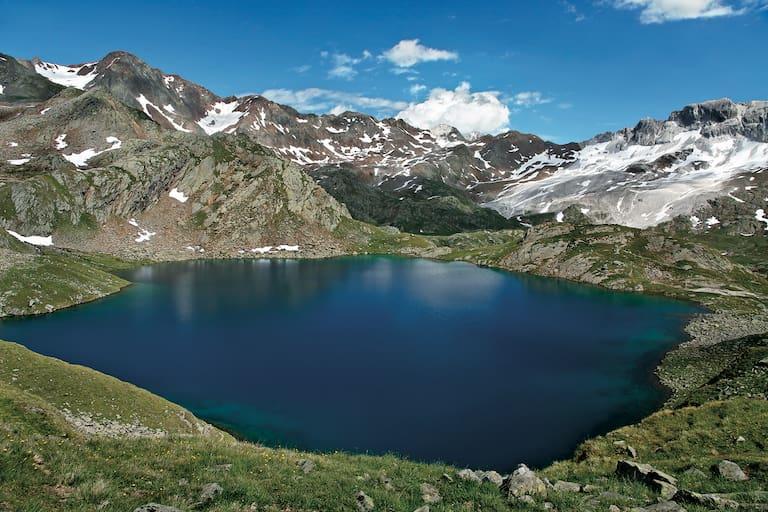 Der Timmler Schwarzsee ist der größte und wohl auch der schönste Passeirer Bergsee.