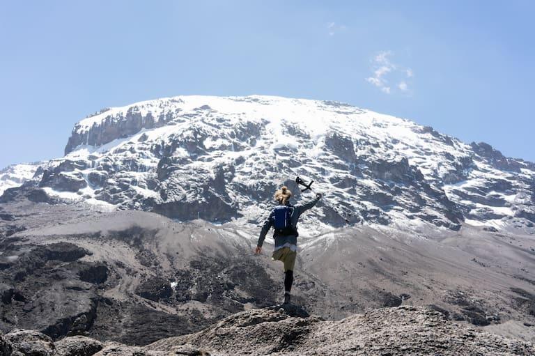 Im August 2018 wagte der 33-Jährige das Projekt seines Lebens und setzte sich die Besteigung des Kilimanjaros zum Ziel