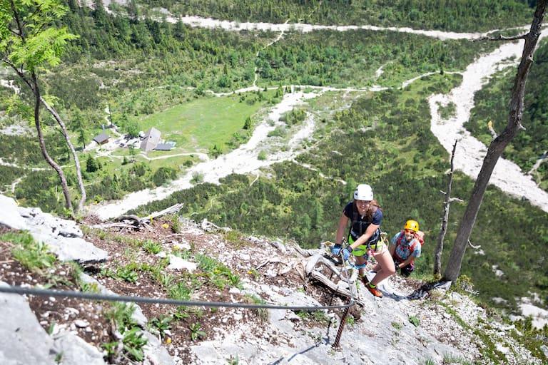 Bergwelten Mein erster Klettersteig