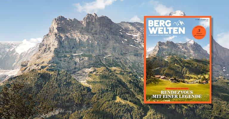 Bergwelten Magazin Schweiz Oktober/November 2018