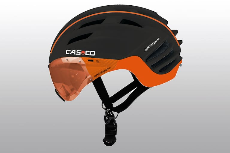 Casco Speedgams Skitourenhelm in Schwarz Orange