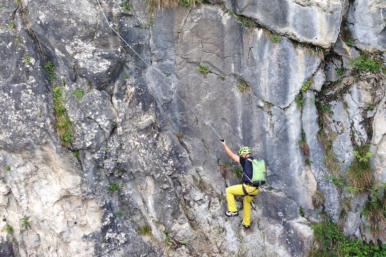 City Wall Klettersteig in Salzburg