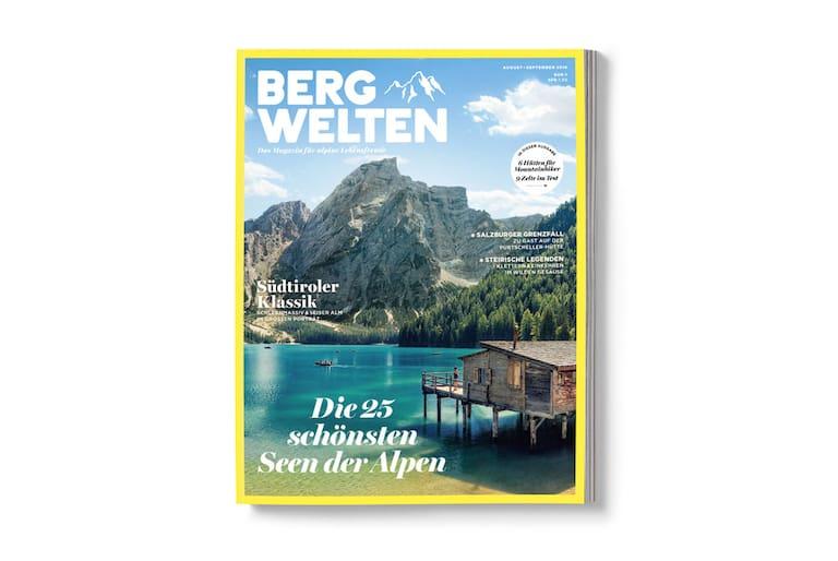 Bergwelten Magazin (August/September 2016) Cover