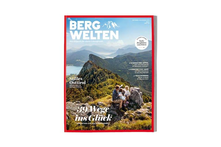 Cover Bergwelten Magazins (Oktober/Novemvber 2016)