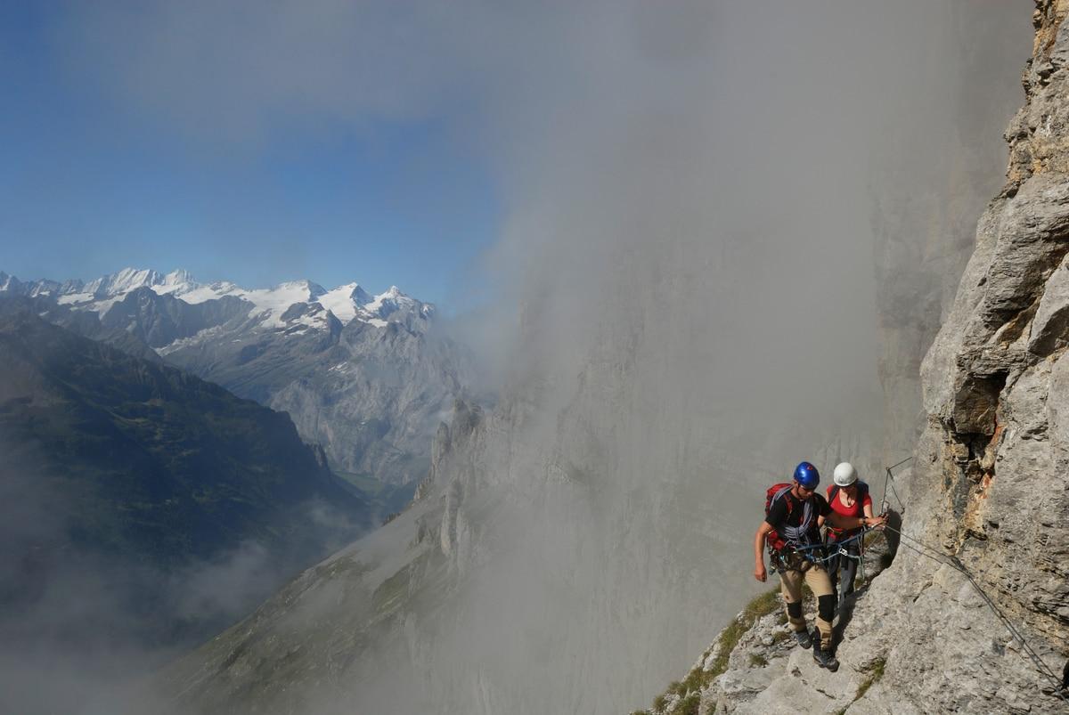 Klettersteig Tälli : Klettersteig: der lange weg am tällistock bergwelten
