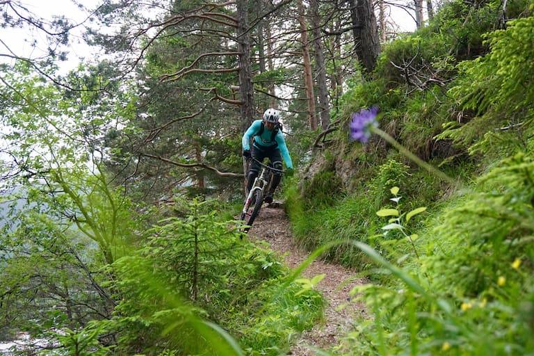Mit dem Mountainbike in Innsbruck