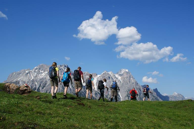 Teilnehmer des Stoabergmarsches