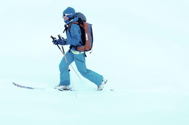Skitouren Gehtechnik