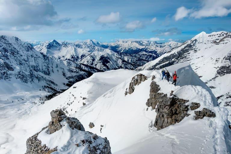 Skitouren Karwendel